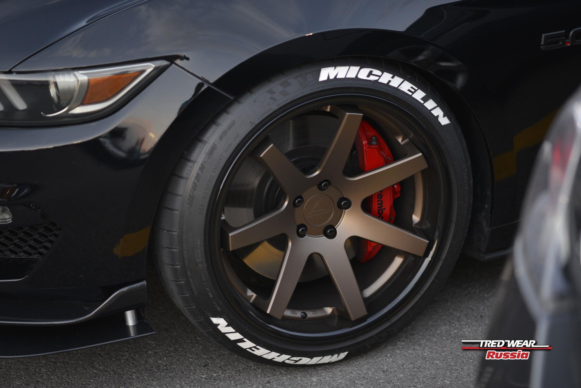 Буквы на шины Michelin